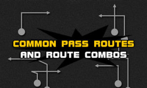 football common pass routes route combos 300x180 Football Plays | Football Strategies  | Madden Tips | Madden